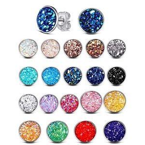 5/$15 Druzy stud earrings